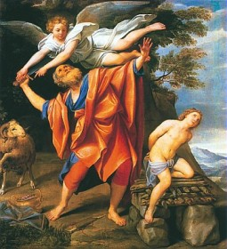 Il sacrificio di Abramo - Origine